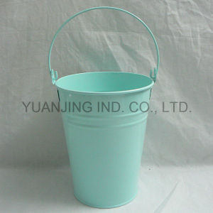 Powder Coating Metal Buckets with Handle for Gift pictures & photos