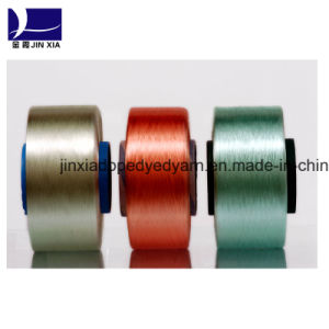 Dope Dyed Polyester Filament Yarn 75D/24f FDY pictures & photos