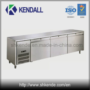 Good Quality Multi-Door Stainless Steel Worktable Refrigerator