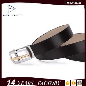 Full Grain Leather Automatic Buckle Ratchet Strap Men Belts pictures & photos