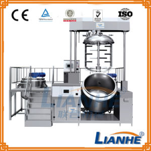 Ce Approved Cream/Liquid Vacuum Mixer with Homogenizer and Emulsifier pictures & photos