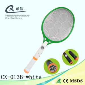 Heat Swatter Anti Insect Trap Zapper electric Mosquito Repeller Racket with LED & Separable Torch pictures & photos