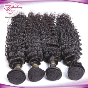 Indian Deep Wave 100% Virgin Human Hair Weaving pictures & photos