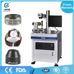 Metal Nonmetal 30W 20W Portable Mini Optical Fiber Color Laser Marking Machine pictures & photos