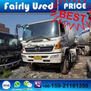 Slightly Used Hino Concrete Mixer Truck pictures & photos
