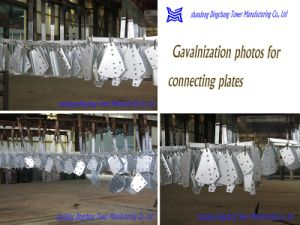 110kv Steel Tube Tower with Zinc Coating pictures & photos