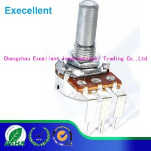 B5k Carbon Single Joint Potentiometer 15mm Length Wh148 with Screw pictures & photos