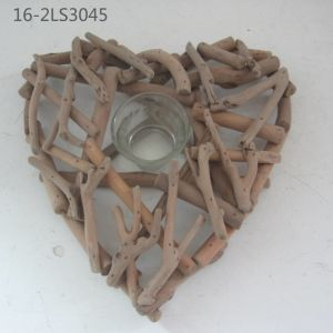 Natural Wooden Special for Deocration and Gift of Candle Sticks pictures & photos