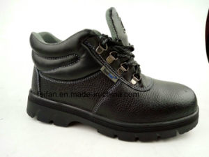 Hot Selling PU Leather Safety Shoes for Safety Protection pictures & photos