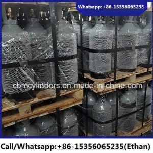 Refillable Steel Oxygen Nitrogen Cylinders 3.4L pictures & photos