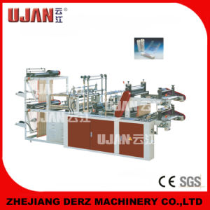 Heat-Sealing and Cool-Cutting Rolling T-Shirt Bag-Making Machine pictures & photos