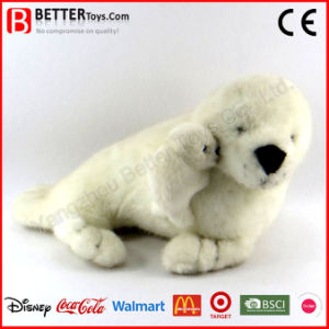 ASTM Realistic Stuffed Animal Plush Toy Soft Seal pictures & photos