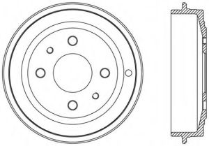 Car Parts Brake Drum Replacement pictures & photos