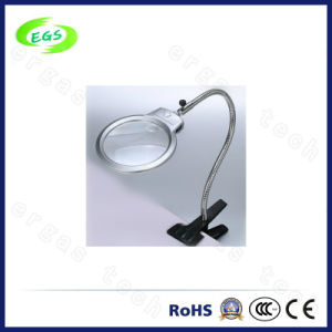 LED Light Handle Desk Clamp Magnifier Lamp/Loupe for Beauty Salons pictures & photos