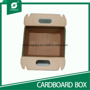 Corrugated Packaging Paper Box for Gift Shipping with Handles pictures & photos