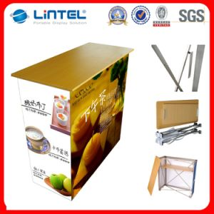 Sales Supermarket Folding Promotion Counter Table pictures & photos