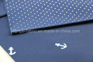 Satin Rivet Polka Printing Cotton Fabric for Chino pictures & photos