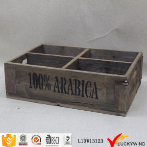 Rustic Vintage Look Storage Box Crate pictures & photos