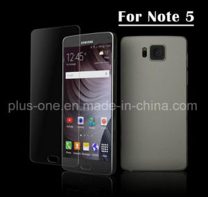 Hot Sale 2.5D High Quality Japan Tempered Glass Screen Protector with Explosion Proof 9h for Samsung Galaxy Note5 pictures & photos