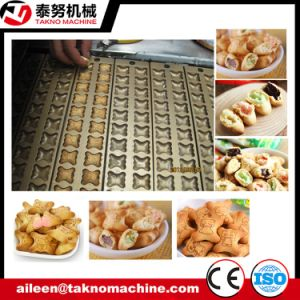Chocolate Filled Panda Type Cookies Making Machine pictures & photos