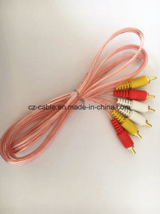 3RCA to 3RCA Cable for AV/TV, Audio Cable pictures & photos
