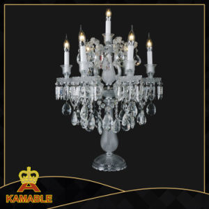 Modern Hotel Project Crystal Table Lamp (KAMT9886-6+1) pictures & photos