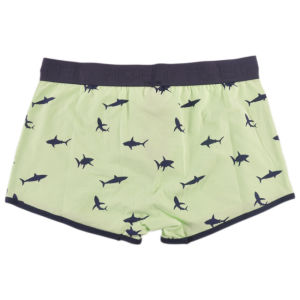 Boy′s Cotton Spandex Printed Boxer Shorts pictures & photos