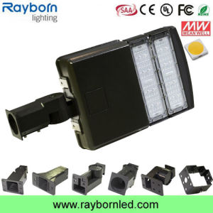 Modular LED Shoebox Area Light 100W with Philips Chip, Meanwell Driver pictures & photos