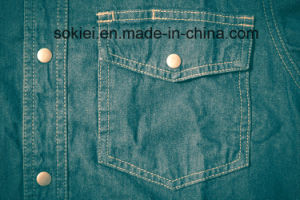 Computerized Programmable Pattern Automatical Jeans Pocket Sewing Machine sn Shit pictures & photos