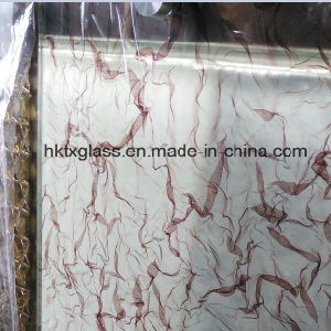 3D Silk Laminated Glass with AS/NZS 2208: 1996 and En12150 Certificate pictures & photos