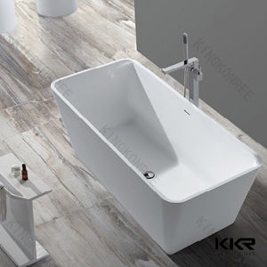 Modern Free Standing Solid Surface Bath Tub pictures & photos