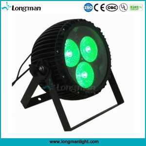 DMX 3PCS 60W RGBW 4in1 LED Zoom PAR Cans for Party pictures & photos