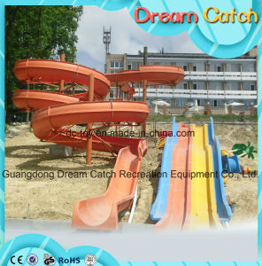 2017 New Design Commercial Large Kids Plastic Water Slide pictures & photos