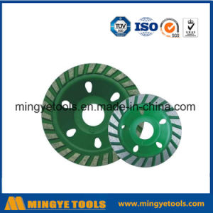 Green Diamond Cup Wheel for Grinding Stone / Marble pictures & photos