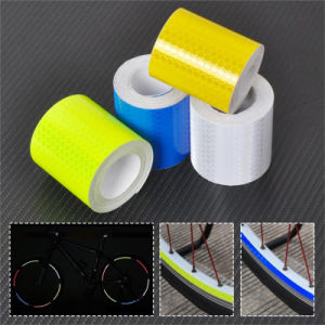Yellow Reflective Safety Warning Conspicuity Tape Film Sticker Roll Strip Us