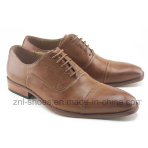 Men′s Office Dress Shoes in Good Quality (HDS-Ra01)