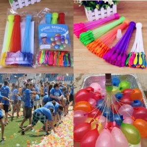 3 Bunches 111PCS Kids Summer Toy Beach Games Party Water Balloon Magic Bombs pictures & photos