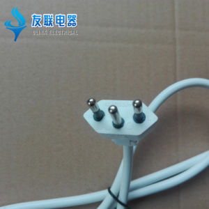 Inmetro Approvedbrazil 3-Pin Power Cord with H03VV-F 3G0.75 Cable (B3-10) pictures & photos