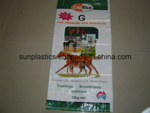 100% New Material 25kg/50kg BOPP Feed Bag/Fertilizer Bag/Rice Bag pictures & photos