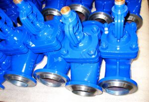 DIN Standard Butt Welded Ends Bellows Sealed Globe Valve Pn40 pictures & photos