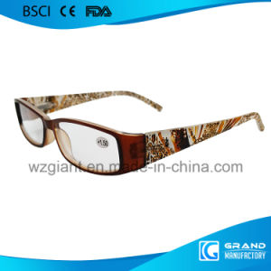 2017 New Style Crystal Brightly Sale Optics Acetate Reading Glasses pictures & photos