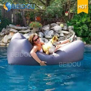 Garden Beach Camping Air Lounge Sofa Bed Inflatable Air Bed
