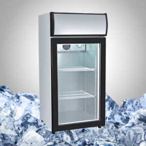 Countertop Display Fridge for Drink Promotion pictures & photos