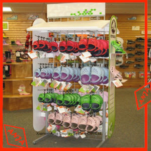 Metal Shoe Display Rack with Hook pictures & photos