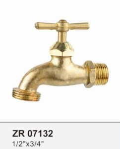 Zr07132 Brass Faucet Bibcock Basin Taps pictures & photos
