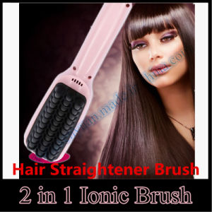 Brush Hair Straightener Comb Irons Come with LCD pictures & photos