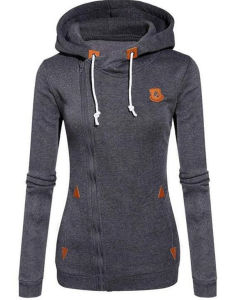 2016 Hot Selling New Designed Fleece Hooded Long-Sleeved Casual Sweater (80003) pictures & photos