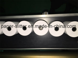 Small Thermal Paper Roll Slitting Machine pictures & photos