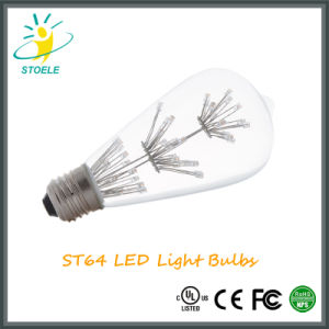 Stoele St64 2W Starry LED Bulb Edison Lamp Energy-Saving String Light