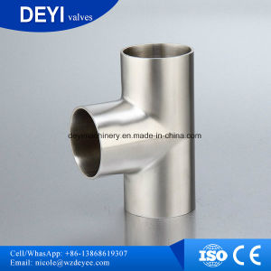 High Quality Stainless Steel Pipe Fittings Equal Tee pictures & photos